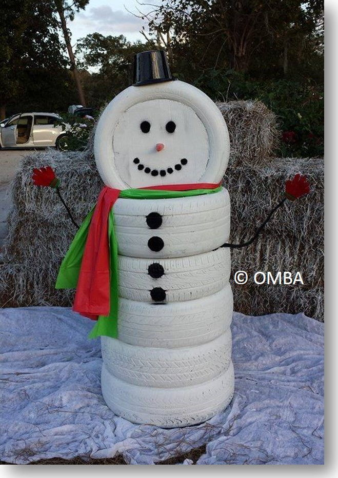tire-snowman