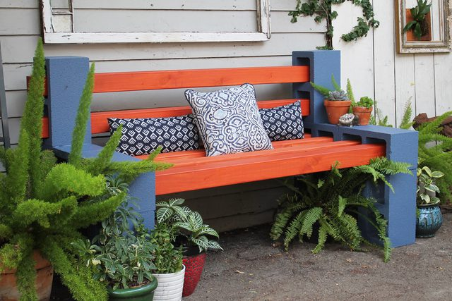 15 creative cinder block projects for