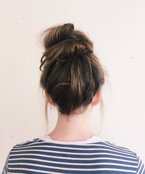 Cute Bun Hairstyles Messy Bun Hairstyles For Moms
