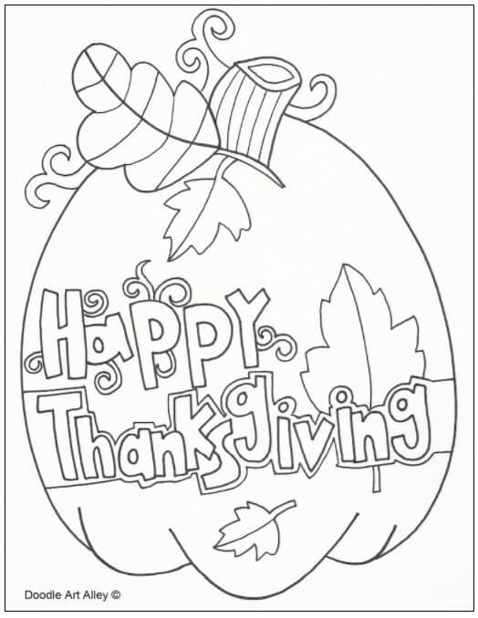 Free Thanksgiving Coloring Pages 20 Thanksgiving Coloring Pages