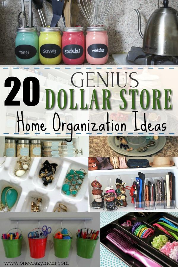 Dollar Store Home Organization 20 Dollar Store Home