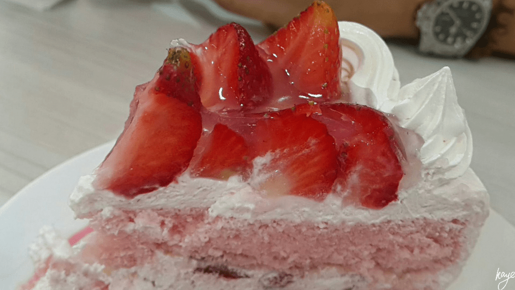 Vizco's famous Strawberry Shortcake