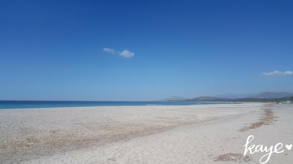 Shoreline of Liwliwa, Zambales