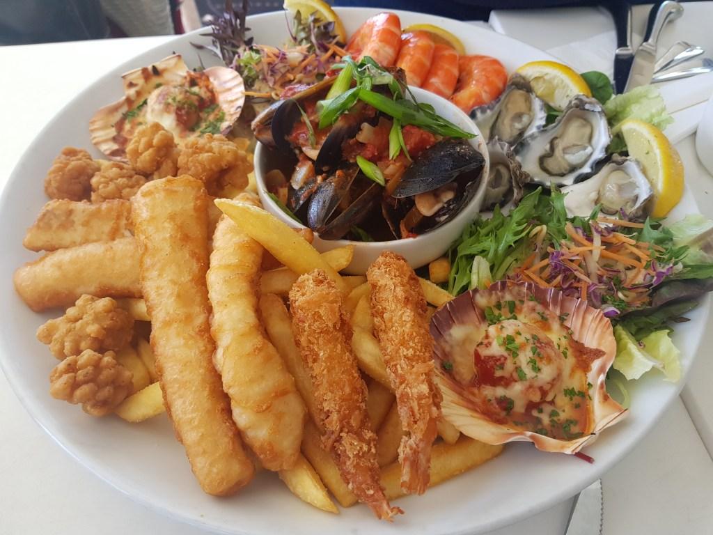 Seafood platter from Bondi Iceberg's