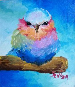 painted bird