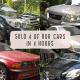 4 car models BMW Nissan Toyota Honda