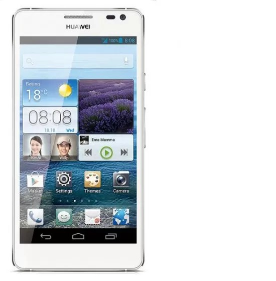 Huawei Ascend D2 - frente