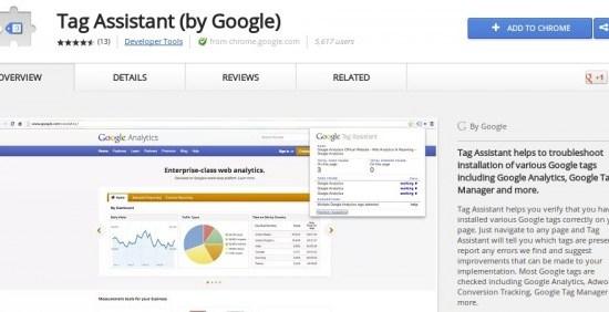 Google tag-assistant