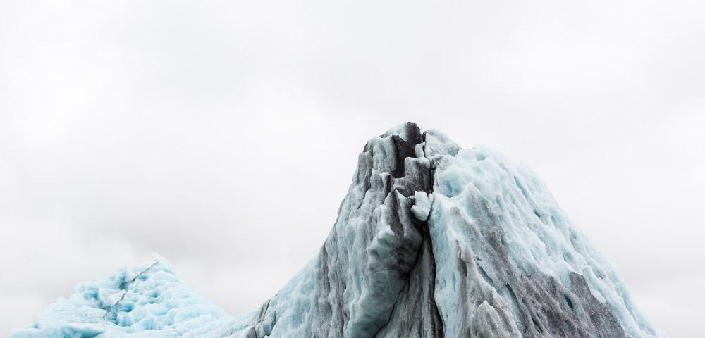 Glacier Iceland Photography Print