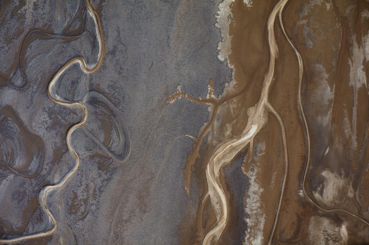 Death Valley Aerial Art Print