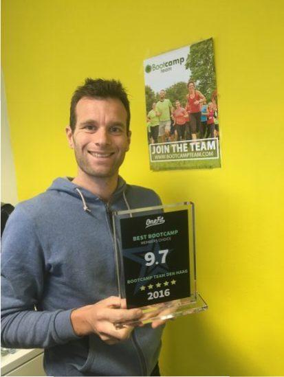 award-winnaar-Bootcamp Team