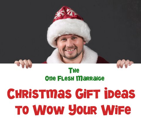 Christmas Gift Ideas To Wow Your Wife 2013 One Flesh