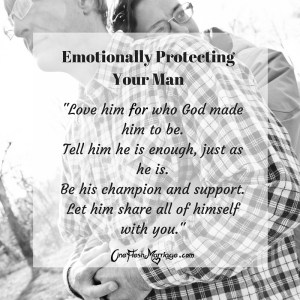 Protecting your man