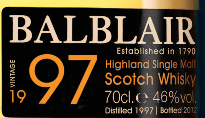 Balblair 97 whisky review