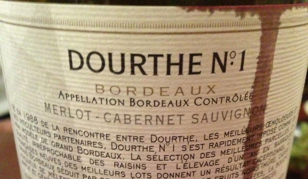 Bordeaux wines and art of blending