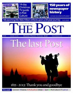 The last Liverpool Post