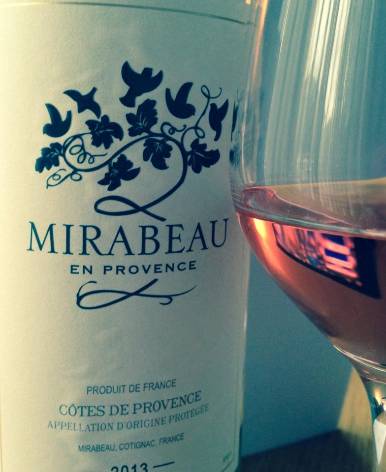 Mirabeau Côtes de ProvenceRosé 2013