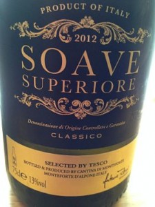 Tesco Finest Soave Classico wine review