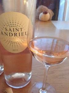 Rosé wine: Saint Andrieu L'Oratoire Rosé 2013