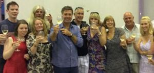 John Torode Mcguigan wines vineyard guests
