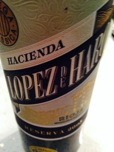 Lopes de Haro Reserva Rioja 2005 review