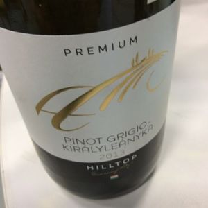 Hilltop Premium Pinot Grigio-Királyleányka