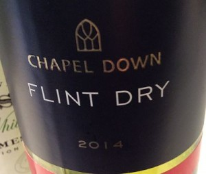 Chapel Down Flint Dry 2014 wine