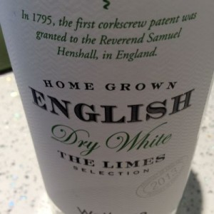 English The Limes Selection 2013 wine Waitrose