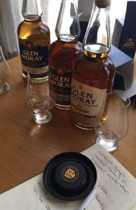 glen moray whisky tasting
