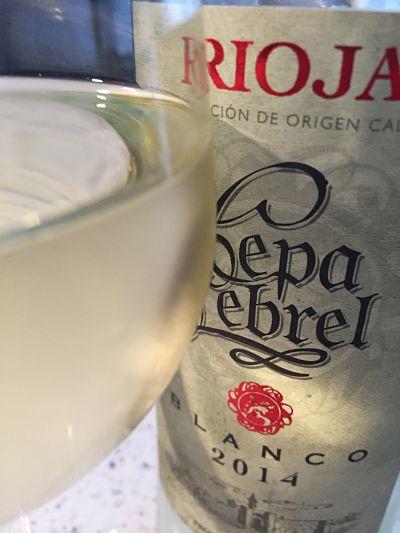 Lidl wines Rioja Blanco, Rioja, Cepa Lebrel 2014
