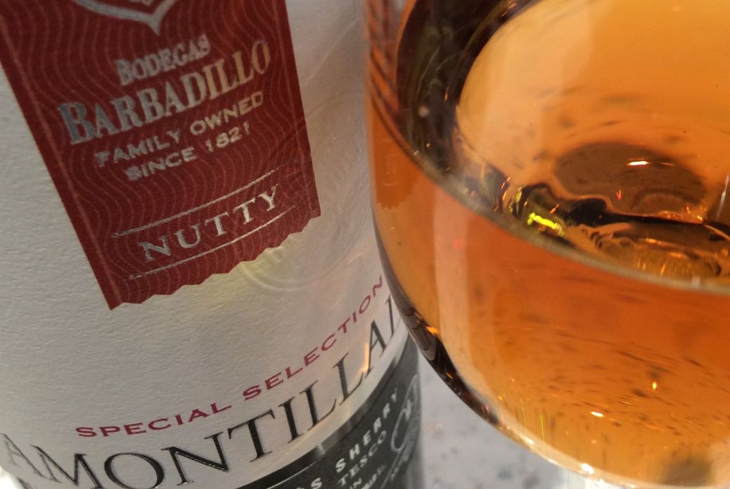 Tesco amontillado award-winning wines 2015