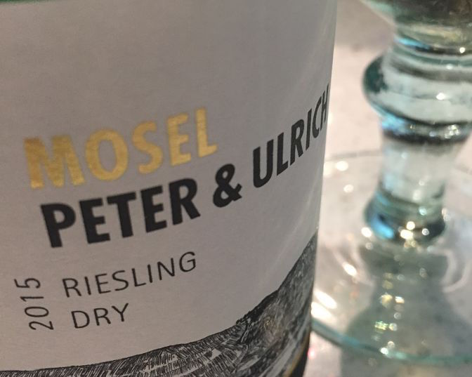 Peter & Ulrich Dry Riesling German wine