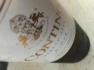 Contino Blanco 2014 rioja wines
