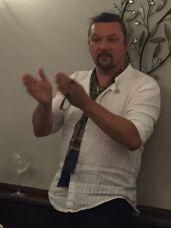Ian Hewitt Spitfire Heritage Gin tasting Dace Crosby