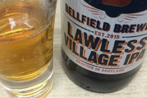 Bellfield Brewery gluten free Lawless Village IPA