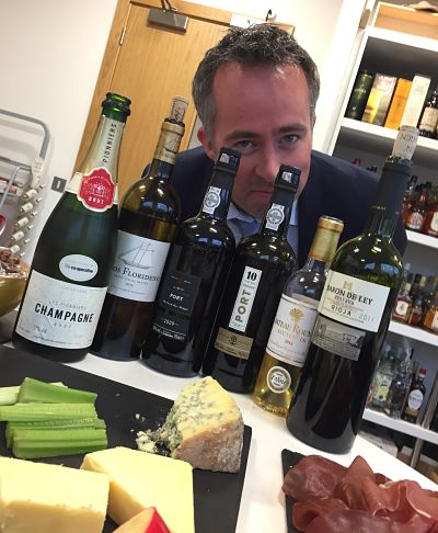 Ben Cahill Co-op wine tasting