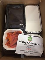 Christmas Share Your Lunch dinner food pack