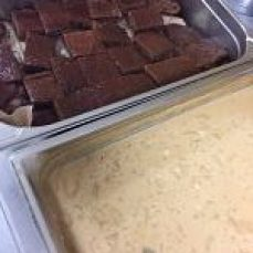 Share Your Lunch Christmas sticky toffee pudding
