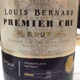 Extra Special Louis Bernard Premier Cru Champagne