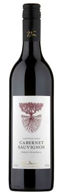 Morrisons Western Australia Cabernet Sauvignon Christmas red wine