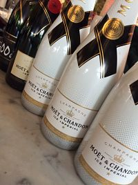 Moet Ice Imperial bottles