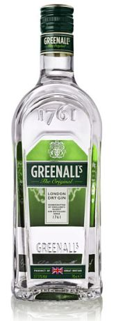 Greenalls Gin new bottle