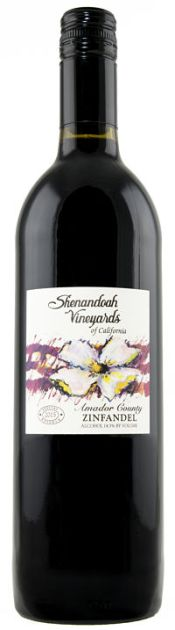 Shenandoah Zinfandel red wine for Christmas