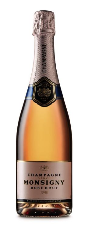 Veuve Monsigny Champagne Rose New Year's Eve wine