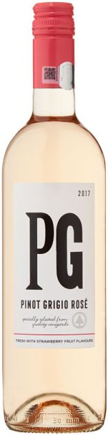 Spar Alphabet Series Pinot Grigio Rose wine