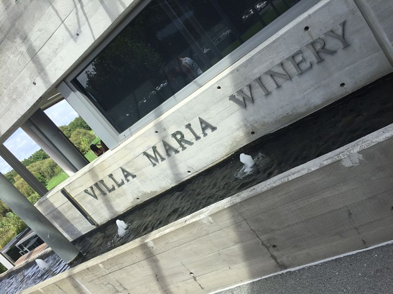 Villa Maria Winery sign