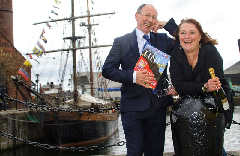 Jane Clare and Peter Elson Liverpool Fizz and Ships