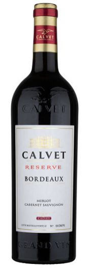 Calvet Reserve, Merlot Cabernet Sauvignon festive red wines