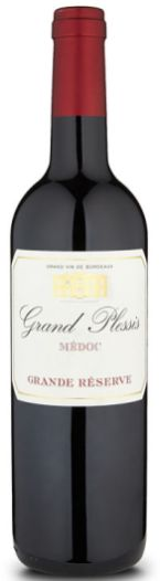 Grand Plessis Médoc festive red wines