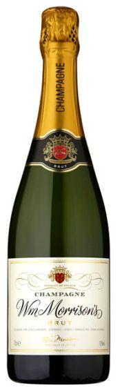 Morrisons Champagne taste test 2018
